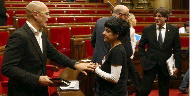 JxSí y la CUP alcanzan un preacuerdo por un referéndum en septiembre de
