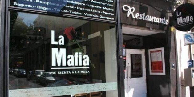 Italia clama contra los restaurantes españoles de 'La Mafia se sienta a la