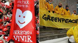 'Derecho a vivir' y Greenpeace,