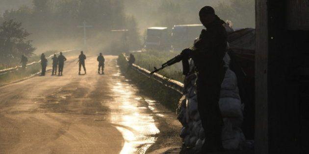 300 prorrusos muertos en la última ofensiva de Kiev antes del alto el fuego