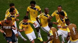 La curiosa coreografía de Colombia y otras imágenes del Mundial
