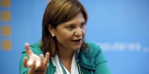 Isabel Bonig, nueva presidenta del PP