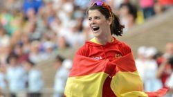 ¡Felicidades Ruth, por ese bronce en salto de