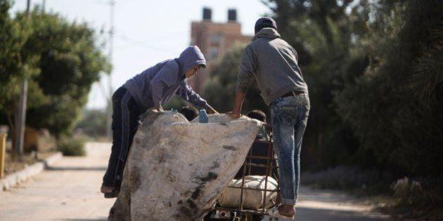 El trabajo infantil, uno de los sustentos