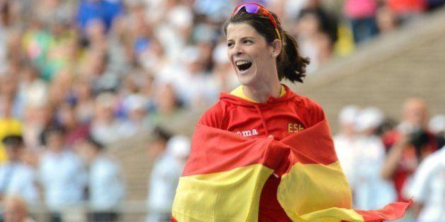 Ruth Beitia logra el bronce en salto de altura en los Mundiales de atletismo de