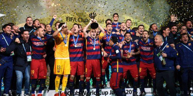 Messi y Luis Suárez ejecutan a River (0-3) y dan al Barça su tercer
