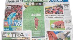 Así vio la prensa brasileña la eliminación de España en el