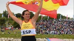 Marina Alabau, primera medalla de oro para España en windsurf
