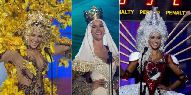Miss Universo 2015: los locos, locos vestidos regionales de las