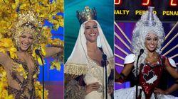 Los raros/locos/imposibles vestidos regionales de Miss Universo