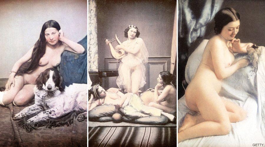 Escenas eróticas desde otro punto de vista: daguerrotipos de 1850 coloreados a