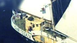 La marina israelí aborda un barco de activistas que se dirigía a