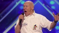 Un abuelo 'heavy' deja boquiabierto al jurado de 'America's Got Talent'... y a todo