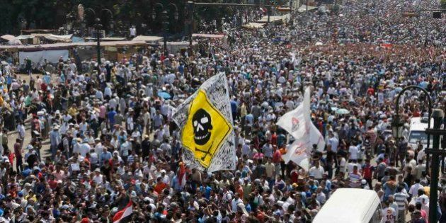 Los enfrentamientos en Egipto, en imágenes