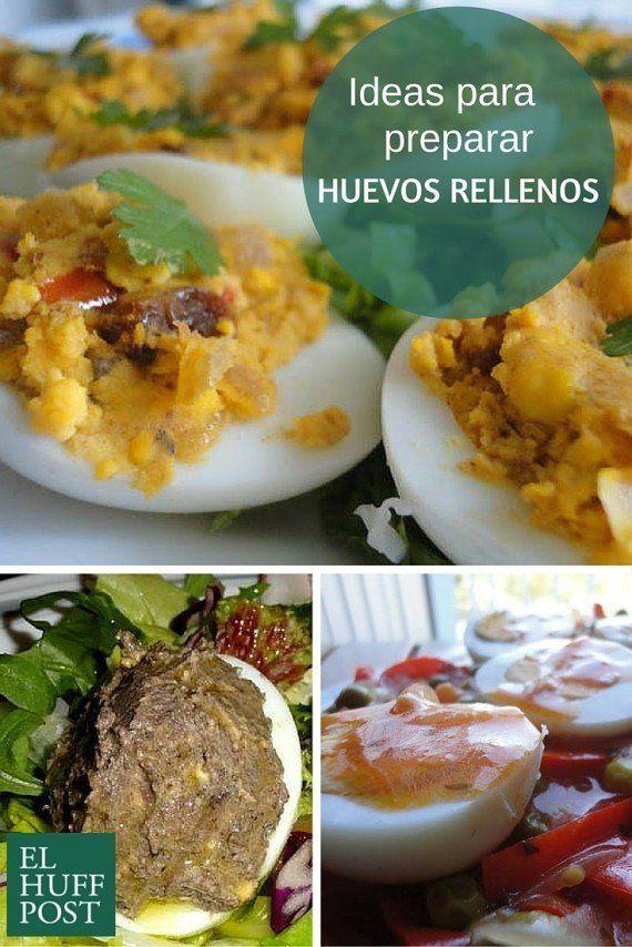 15 formas de preparar huevos rellenos y no caer en el aburrimiento