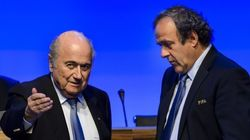 Ocho años de suspensión para Blatter y