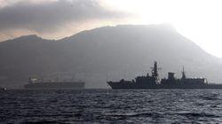 La fragata británica de guerra llega a