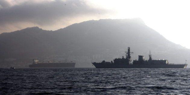 HMS Westminster: La fragata británica de guerra llega a Gibraltar en medio de la tensión en la