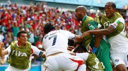 Costa Rica da la sorpresa en el 'grupo de la
