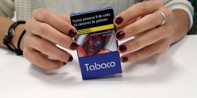 Fotos impactantes taparán el 65% de la cajetilla de tabaco a partir del