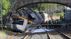 Al menos cuatro muertos tras descarrilar un tren en Porriño