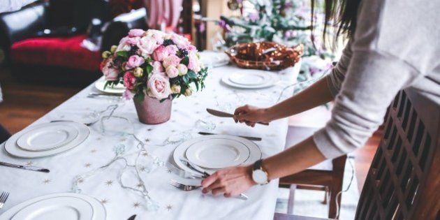 Cómo poner la mesa en Navidad: olvídate del