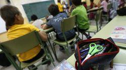 Cae un 35,5% el número de alumnos con beca en Infantil, Primaria y