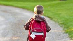 La foto del primer día de colegio con la que muchos padres se sentirán