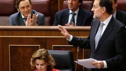 Rajoy 'calca' el discurso sobre la independencia al