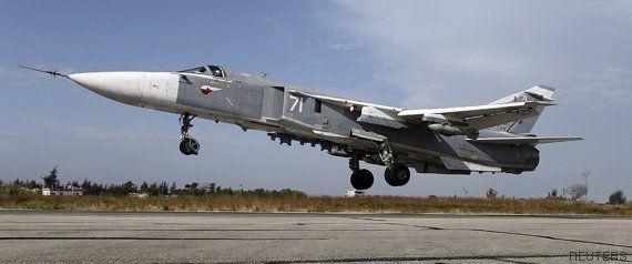 Turquía derriba un caza ruso que sobrevolaba la frontera con