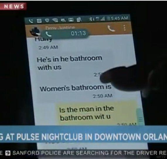 Los escalofriantes mensajes de una de las víctimas de Orlando a su