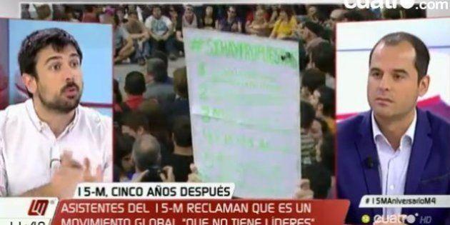 La respuesta del equipo de Cifuentes a Ramón Espinar tras esta metedura de