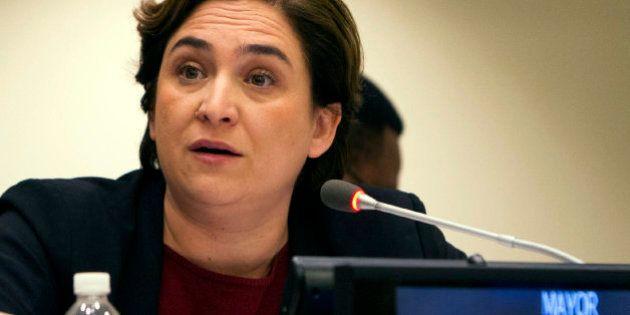 Ada Colau critica en la ONU las políticas de acogida de refugiados en