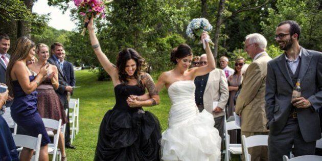 22 fotos de bodas homosexuales tremendamente