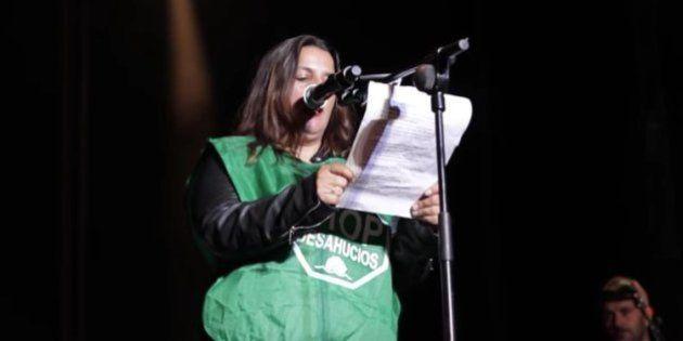 Las críticas de la PAH al Ayuntamiento de Madrid en plenas fiestas de San Isidro