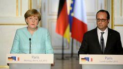 Merkel y Hollande meten prisa a