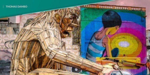 Thomas Dambo, el artista que convierte la basura en arte
