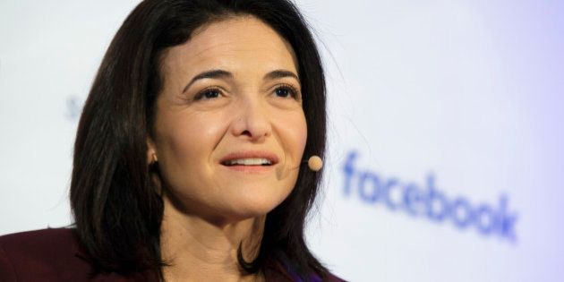 BERLIN, GERMANY - JANUARY 18: Chief Operating Officer at Facebook Sheryl Sandberg on January 18, 2016...