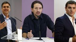 Sánchez, Rivera e Iglesias: encuentro en 'El Huffington