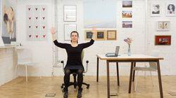 8 minutos de yoga para sentirte mejor en tu trabajo