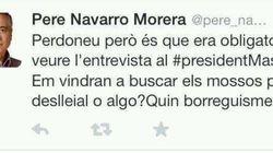 El community manager de Pere Navarro dimite por este