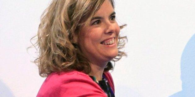 Soraya Sáenz de Santamaría reconoce que
