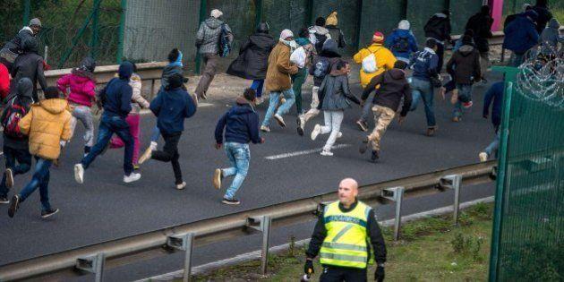 300 detenidos en un nuevo intento de cruzar por el túnel de la