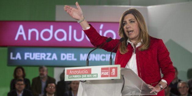 Susana Díaz decide adelantar las elecciones en Andalucía a