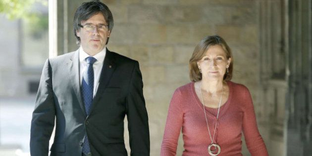 El Constitucional pide al fiscal que actúe contra Forcadell por