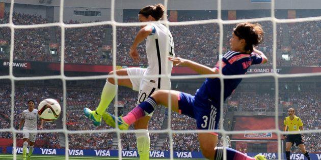 Las mejores fotos de la final del Mundial femenino de fútbol entre EEUU y