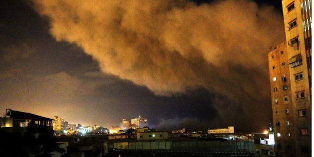 Operación 'Margen Protector': Israel bombardea 160 objetivos en