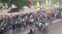 La caída menos esperada del Tour de