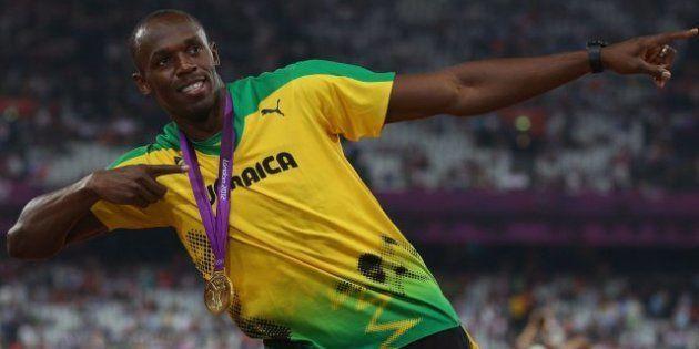 Juegos Londres 2012: Bolt logra otra oro al ganar Jamaica el 4x100 con récord del mundo