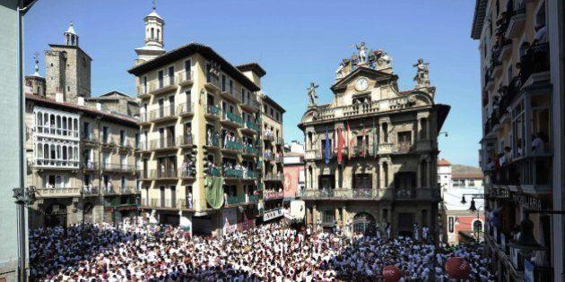 Chupinazo 2015: Pamplonesas, pamploneses, ¡viva San